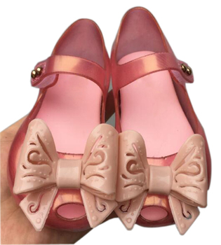 ca2c2184ff9c Girls Jelly Sandals kids sandals jelly shoes PVC soft out sole children  Sandals