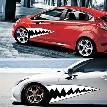 Logo print removable car windshield sticker design for display