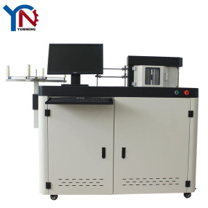 Aluminum 3D Advertising Automatic Channel Letter Making bending Machine