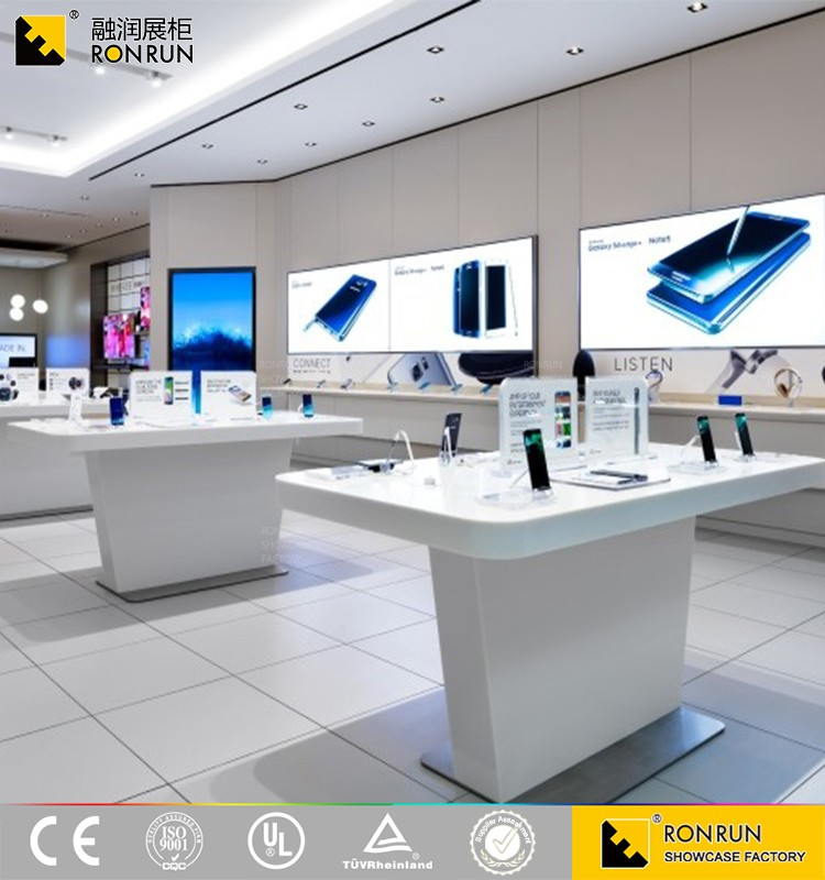 Popular Mobile Phone Shop Interior Furniture Design For