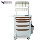 Hospital ABS Anaesthesia Trolleys Lightweight Luxury Medical carts Wholesale