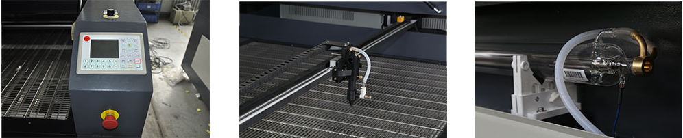 Camera-Oriented Logo Laser cutting system