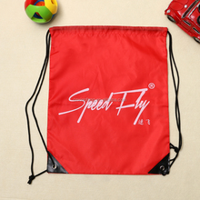 Wholesale sublimation printed red color 210D polyester sport bag for basketball