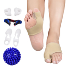 Hallux Valgus Pain Relief Bunion Correct Kit With Spiky Foot Massage Ball