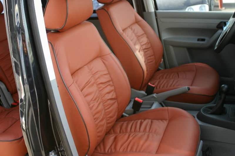 Vw Caddy Leather Seat Covers