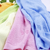 100% Cotton terry bath towel dots series