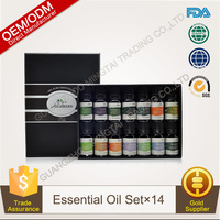 100% Pure Plants Extracts Therapeutic Grade Essential Oil Gift Set 14 Bottles OEM/ODM Professional Supplier