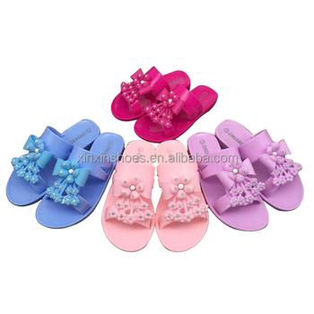 Cute Girls Fancy Plastic Pink Jelly