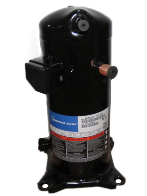 compresor refrigeracion. copeland compresor de scrool digital zpd34k5e-pfv/pf nacional partes refrigeración refrigeracion r
