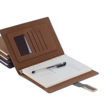 d446716570d9e Vintage Leather Notebook a5 Journal Calendar 2019 a6 Notebook Planner  Binder Diary Retro Agenda Organizer leather