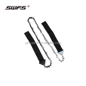 "3/8"" gauge chainsaw waterproof pocket saw imported steel pocket chain saw"