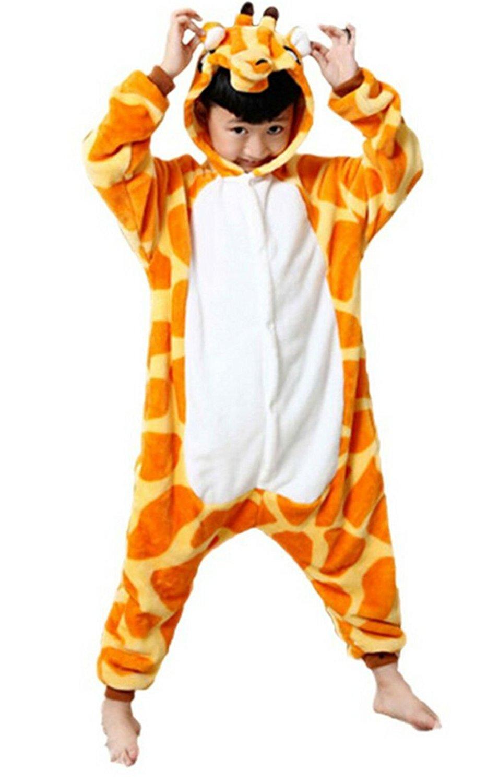 172f8b5a2 Get Quotations · Children's Halloween cosplay giraffe Animal Pajamas Animal Onesie  sleepwear