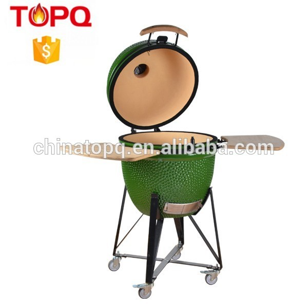 TOPQ Outdoor BBQ Grill Charcoal Barbecue Patio Backyard Home Meat Cooker Smoker