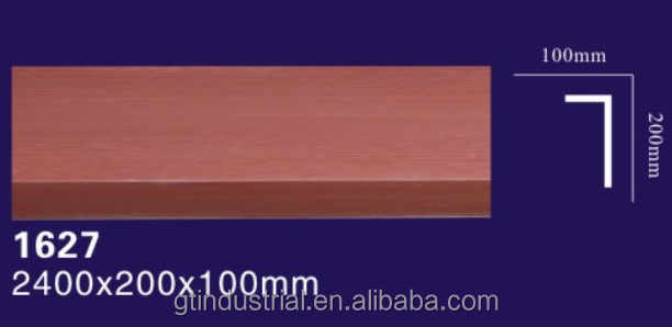 polyurethane(PU) faux beam/Pu imitation wood beam for house decorative