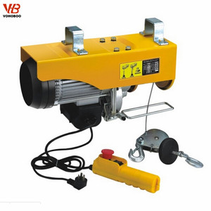 Small Capacity overhead crane Lifting Machine 1ton 1000kg wire rope cable  Mini Electric Hoist
