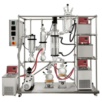 West Tune WTMD-08 Pro Short Path 3.0~5.0L/h Wiped Film Molecular Distillation Equipment with High Quality