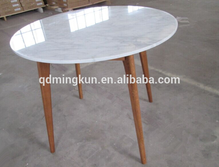 Granite Top And Wood Oak Leg Dining Table Marble Laminated Designs Round With 6 Chairs