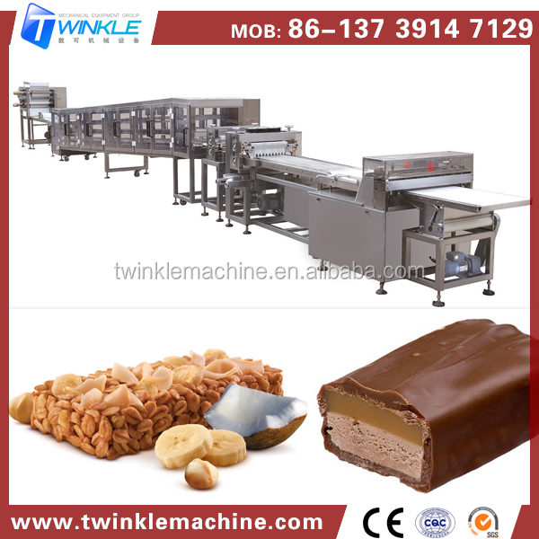 China Wholesale High Quality Healthy Snack Chocolate Nut Cereal Energy Bar Making Machine