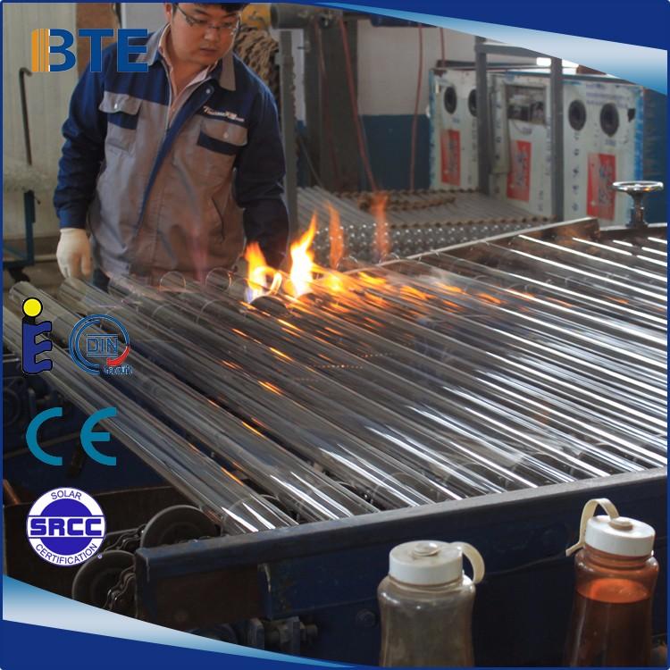 2018 hot sales 58mm*1800mm solar evacuated vacuum tube
