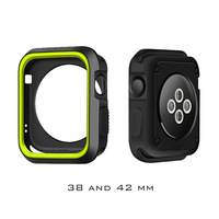 Full Protective TPU Case cover for Apple Smart Watch Series 1 2 3 38mm 42mm