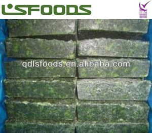 High quality IQF frozen spinach