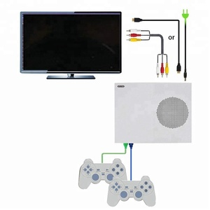 High Definition 4GB 64-Bit Version X Game Video Game Console Connect To TV Game Machine