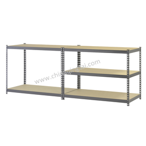 Solid oak corner shelving unit