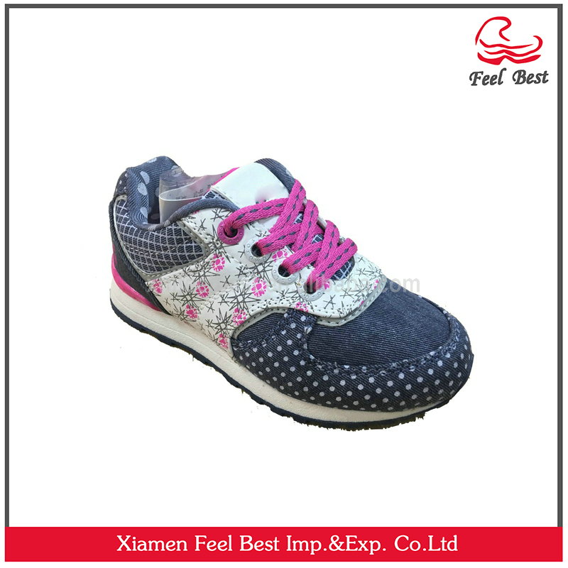 Hot Design Manufacturer China Kids Footwear Girls Shoes Dress Sweet Girl Shoes