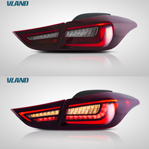 Vland factory for car tail lamp for Elantra Taillight 2011 2012 2013 2014 2015 2016 for Avante MD tail light turn signal wholesa