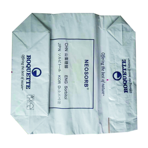 pasted valve chemical titanium dioxide packaging paper bag for 20kg powder