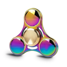 Fidget Spinner Toy Ultra Durable Stainless Steel Bearing High Speed Metal Hand spinner EDC ADHD Focus Anxiety Stress Relief Toys