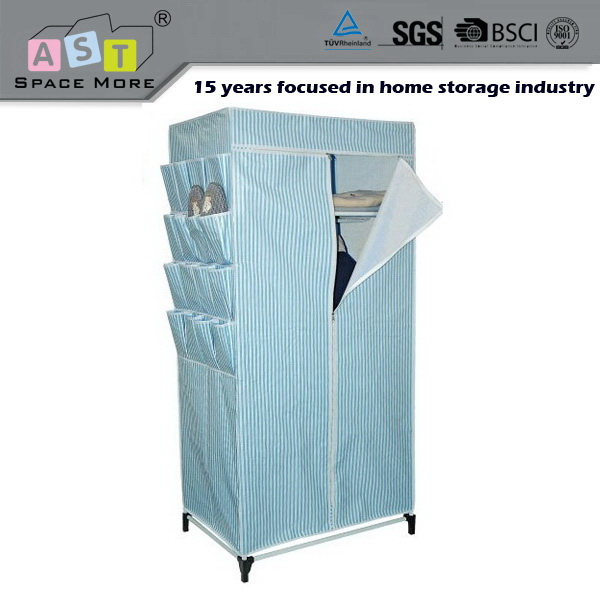 Easy to operate wholesale price portable wardrobe closet for