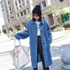 Mewell 2018 new fashion Mongolian wool in the long sheep shearing fur overcoat for ladies