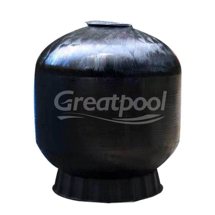Di Spesifikasi Produk 410 Mm Hitam Filter Peralatan Pembersih untuk Kolam Renang