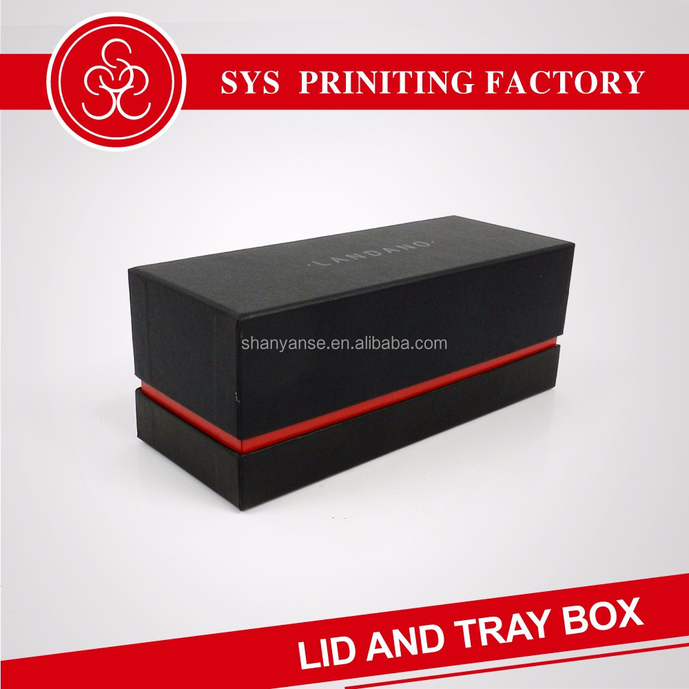 Presentation storage jewelry lid and tray paper box