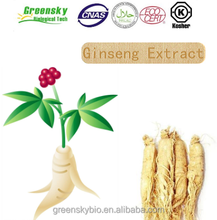 Factory Supply 100% Natural Organic Panax Ginseng Root&Stem Leaf Extract Powder, Ginseng Extract