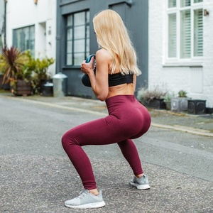 d94e68361b6 High Waist Fitness Sexy Tight Gym Sportswear Seamless Yoga Leggings Pants