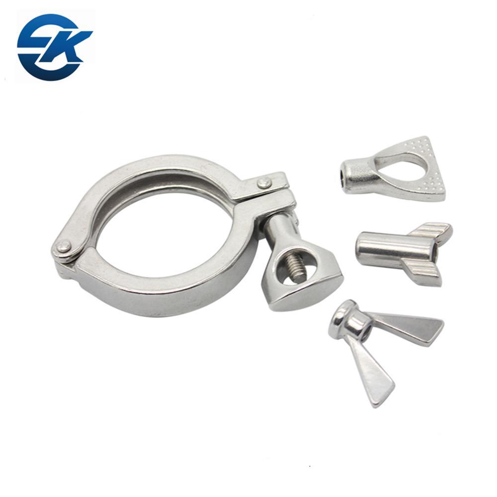 Food Grade Stainless Steel Ss304 Sanitary Tri Clamp Fittings C Type Clamp -  Buy Sanitary Tri Clamp Fittings,Stainless Steel Sanitary Tri Clamp