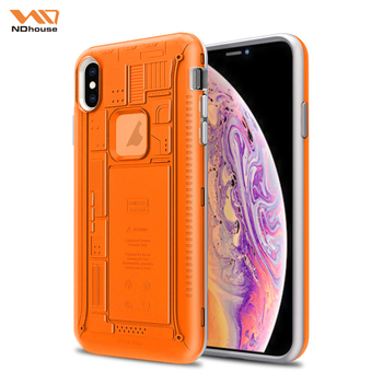 NDHOUSE 2 In 1 Phone Cover Para For Iphone Xs Max