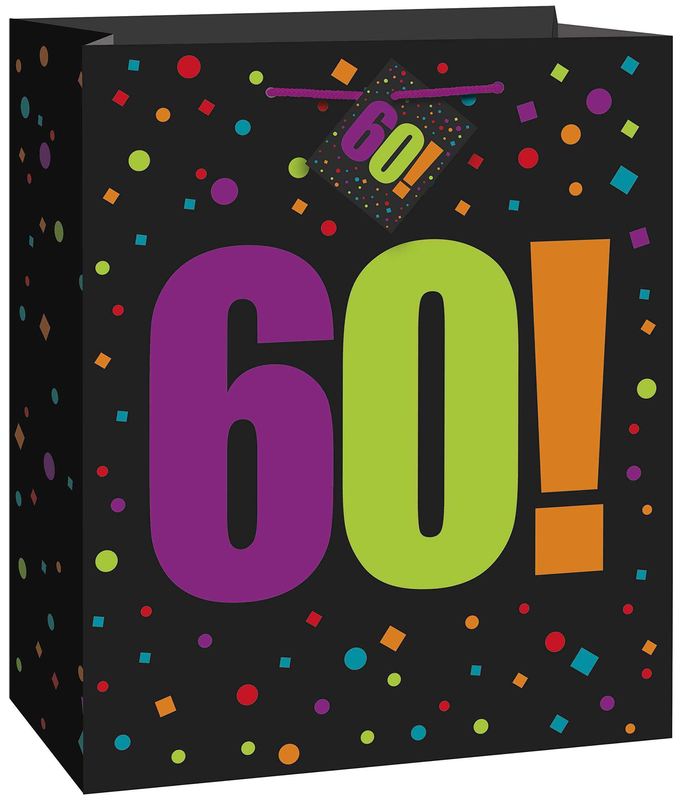 Get Quotations Large Birthday Cheer 60th Gift Bag