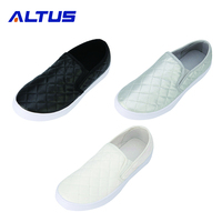 Promotional OEM Logo Fabric women shoes casual white