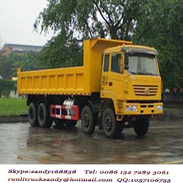 340HP Hongyan IVECO 8x4 12 wheels 70-80T dump truck for sale