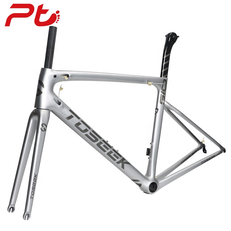 Ultra-light Racing Bicycle <strong>Carbon</strong> <strong>Road</strong> <strong>Frame</strong>+Fork+Seatpost+Headset Hight Quality Chinese <strong>Carbon</strong> Fiber <strong>Road</strong> Bike <strong>Frame</strong>