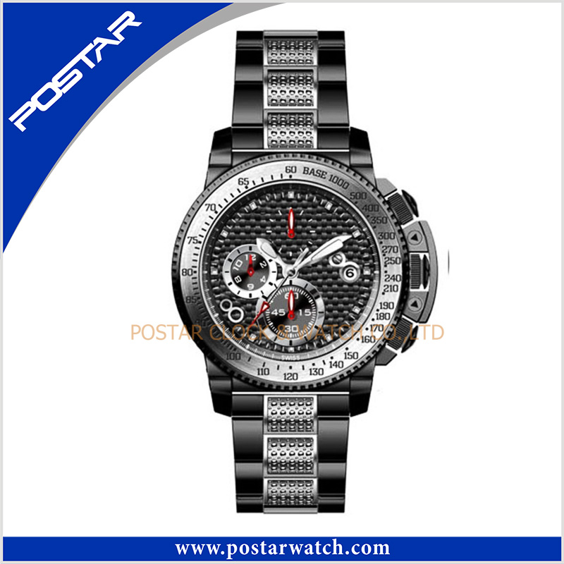 New Model Released Quartz Wrist Watch with Stainless Steel Band