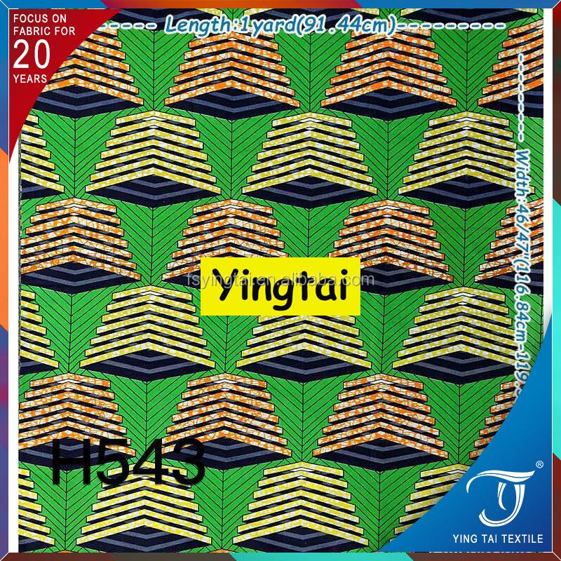 Pas cher ankara tissu textile 100 coton batik hollandais cire tissu imprim - Tissu imprime pas cher ...