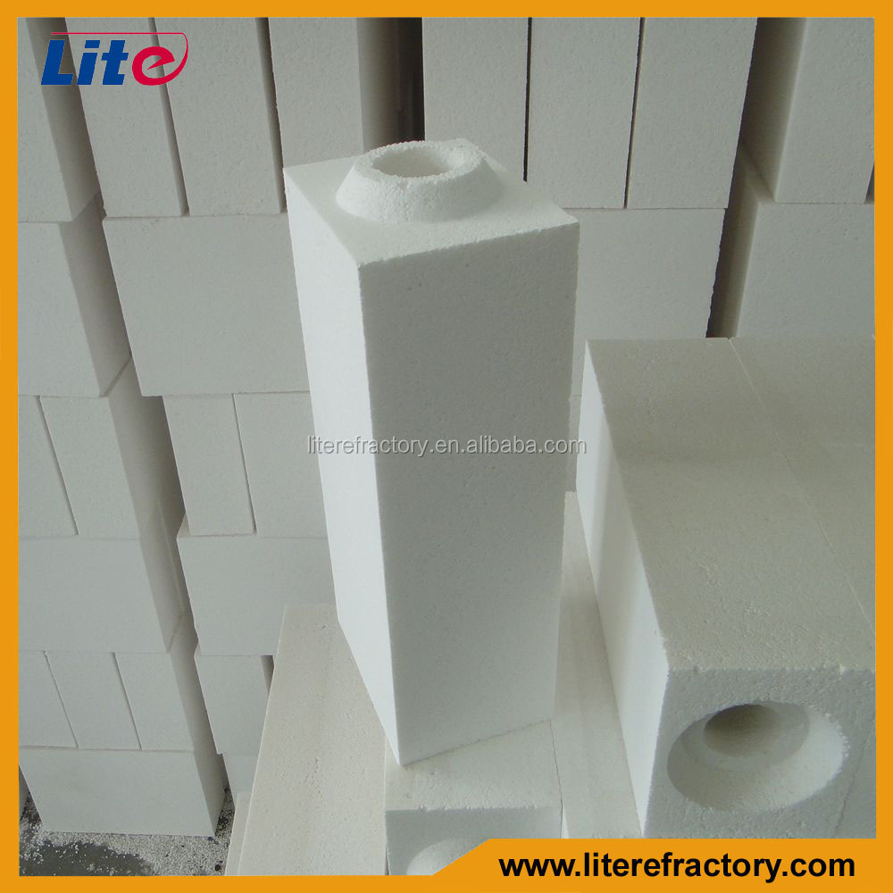 1800C Light Weight Thermal Insulation High Alumina Bubble Brick for Kiln Furnace Lining