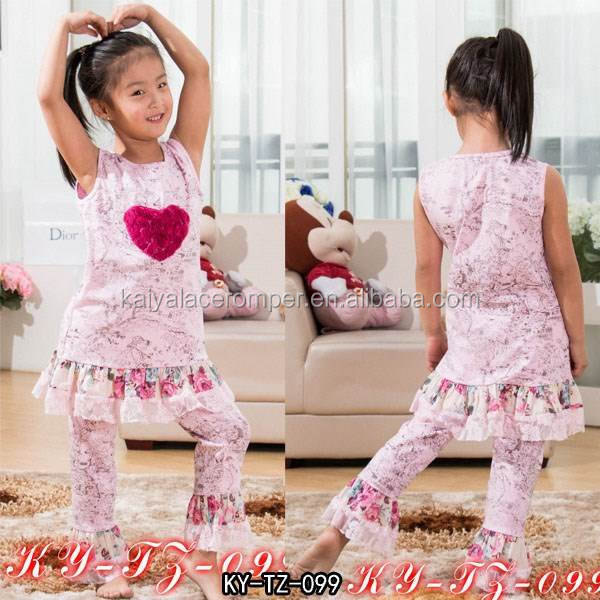 kids clothes wholesale childrens clothing girls fall boutique outfit the flower print back to school boutique outfits