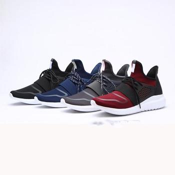 custom logo young man black color action sports shoes running shoes casual shoes for men