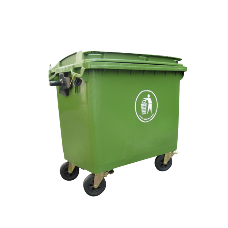 Good 1100L Grande Pattumiera Di Plastica Scatola Di Compost Di Massa Di Plastica  Cestino
