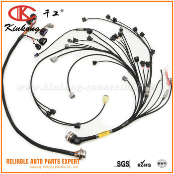 bmw e28 81 88 5 series custom engine wiring harness toyota 1jz gte rh alibaba com